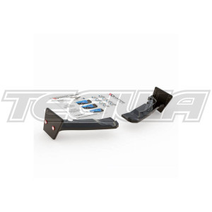 Maxton Design Rear Side Splitters + Flaps V.4 Toyota GR Yaris 20+