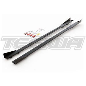 Maxton Design Racing Durability Side Skirts Splitters + Flaps Toyota GR Yaris 20+