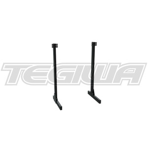 Trak Racer Aluminium Profile Legs for Floor Monitor Stand for TR8020 Monitor Stand – Black