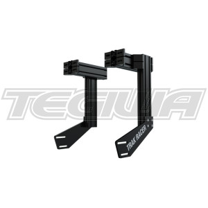Trak Racer Integrated Universal Aluminium Profile Monitor Mounts for TR8020 and other Aluminium Rigs – Black