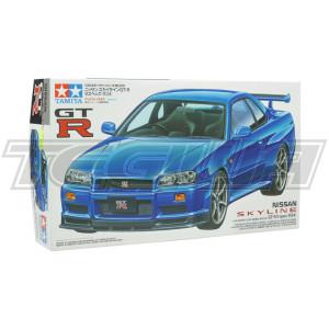Tamiya 1:24 Scale Nissan Skyline R34 GTR V-Spec #1253P With Tamiya Glue