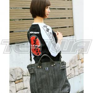 J's Racing J'S MODE Vintage Denim Bag Black