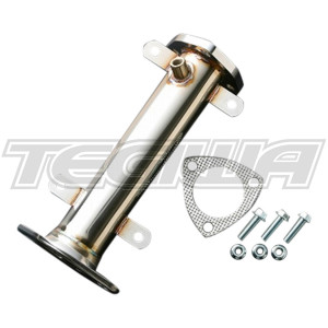 J's Racing Stainless Steel Decats and Down Pipes